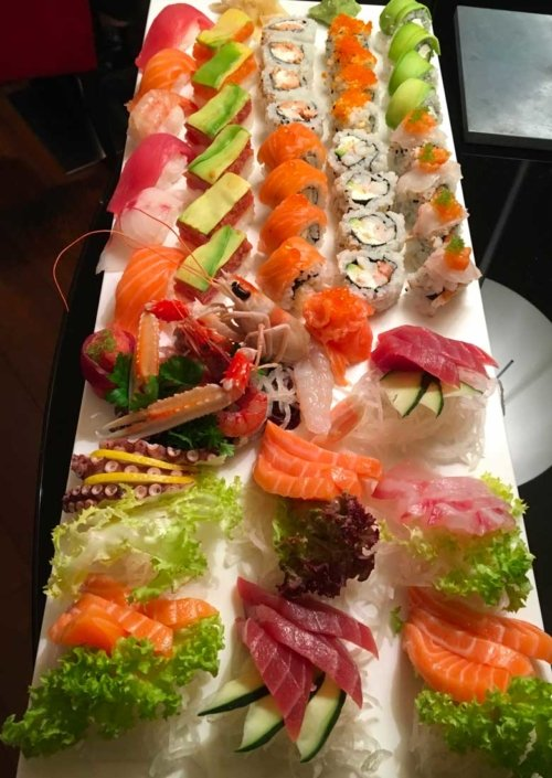 sushi bar in centro bergamo
