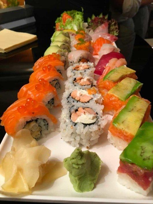 sushi experience a bergamo